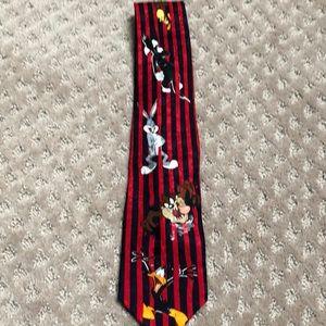 Vintage Looney Tunes Mania Tie